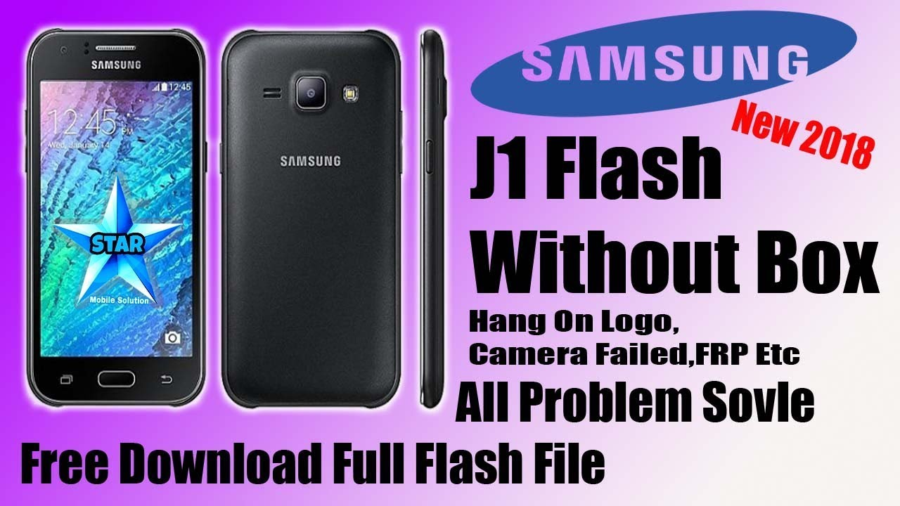 Samsung Galaxy J1 SM-J100H Full Flash Without Box With Odin || Hang On Logo  Problem Fix 100%-TESTED