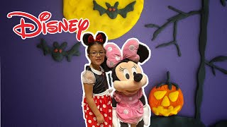 Toy Hunt Shopping at Disney Store and Fun Halloween Party