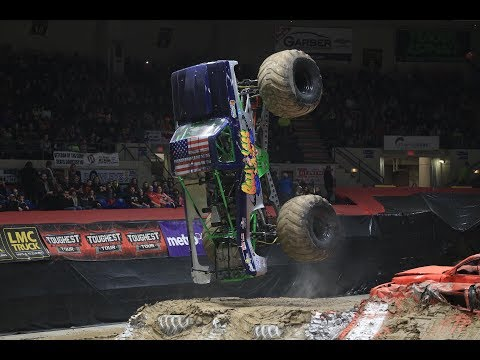 TMB TV: Monster Trucks Unlimited - Toughest Monster Truck Tour - Saginaw, MI 2018