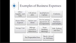 Business Expenses - Small Business Tax and Bookkeeping 101 Webinar