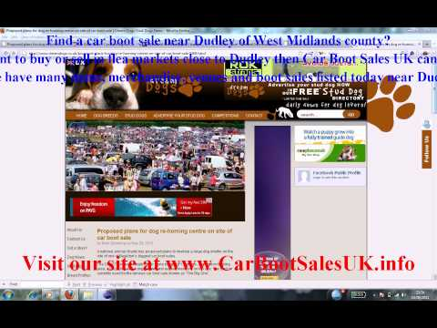 Car Boot Sales Dudley | Flea Market Sites West Midlands