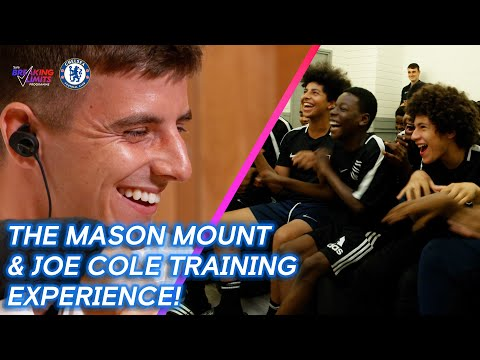 Mason Mount and Joe Cole teamed up to give some young players an amazing training experience