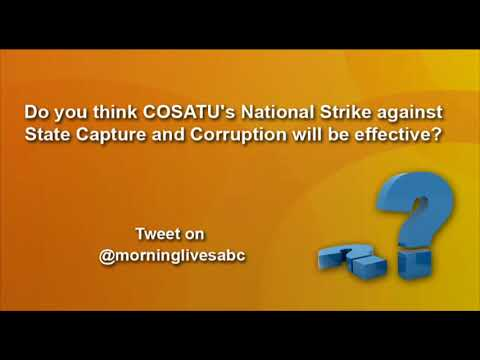Social Media on Cosatu's national strike