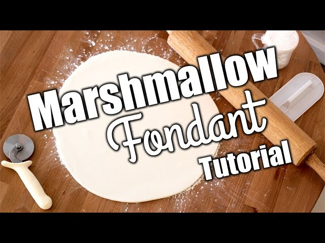 Easy Delicious Homemade Marshmallow Fondant Recipe!