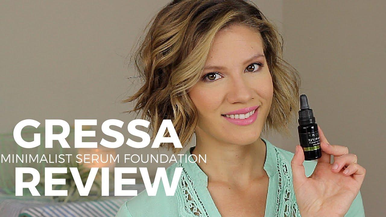 Gressa minimalist serum foundation review natural for Laura dunn minimalist living now