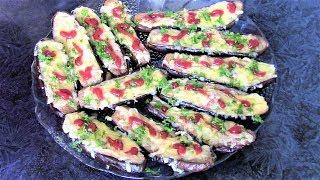 Запеченные баклажаны с сыром и яйцами. Как просто и вкусно запечь баклажаны!