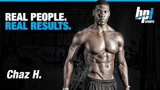 Real People, Real Results - NPC Competitor Chaz H.