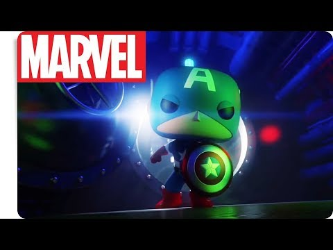 FUNKO - Captain America: Submarine Showdown | NEU auf Marvel HQ Deutschland