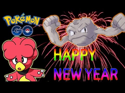 HATCHING A MAGBY! HATCHING A 100% IV GEODUDE! REN CEN NEW YEARS EVE DETROIT! Youtube Live Stream 44