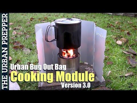 Cooking Module | Urban Bug Out Bag | Version 3.0