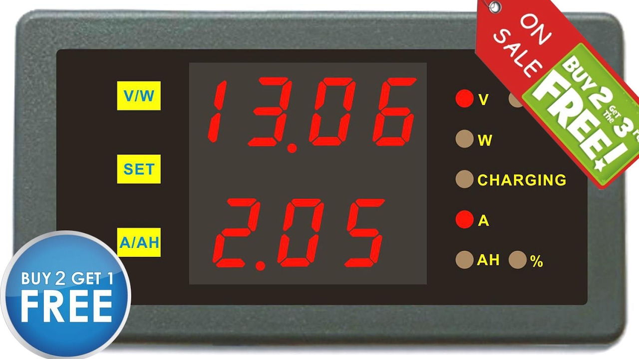 The Best Amp Voltmeter U Can Have In A Motorhome Or Campervan Youtube 50a Camper Wiring Diagram