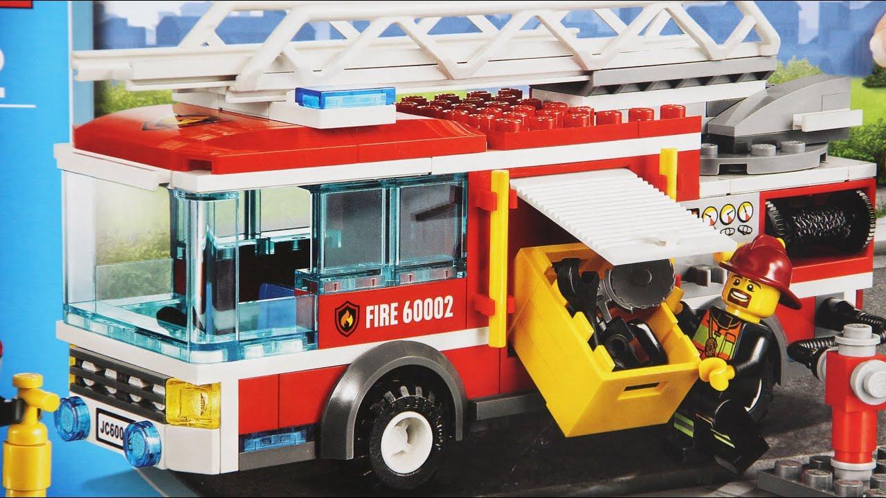 Fire Truck Wóz Straży Pożarnej 60002 Lego City Www