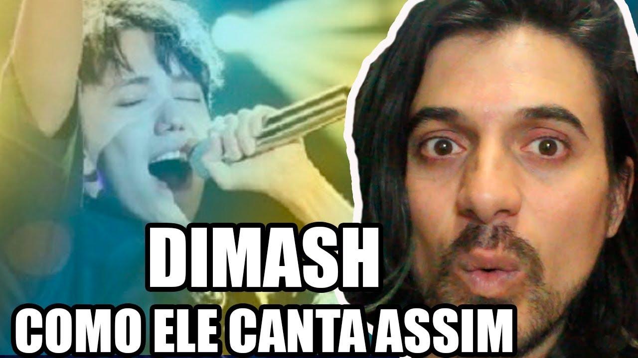Dimash - Como ele canta desse jeito (desses jeitos) React e Análise