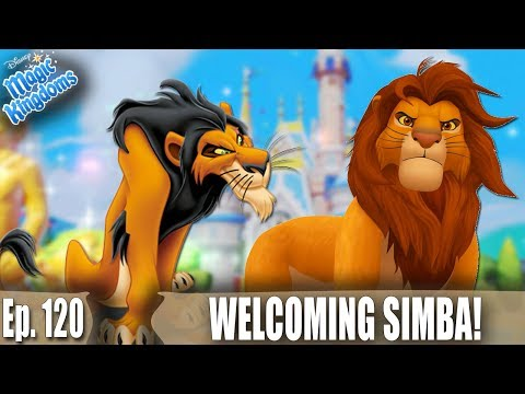 WELCOMING SIMBA AND BATTLING SCAR! - Disney Magic Kingdoms Gameplay - Ep. 120