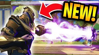LEGENDARY THANOS GAMEPLAY in Fortnite Battle Royale!