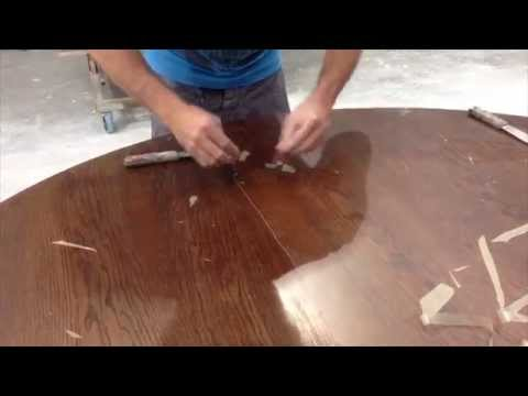 Refinishing Table
