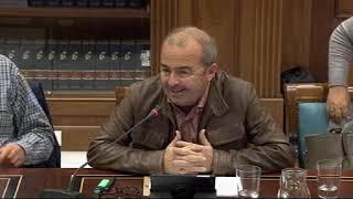 Paco Déniz (Podemos) sobre cumplimiento de la legislación por universidades privadas en Canarias