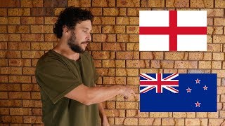 THE DIFFERENCE BETWEEN ENGLAND AND NEW ZEALAND