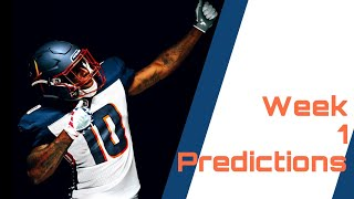 Alliance of American Football Week 1 Predictions