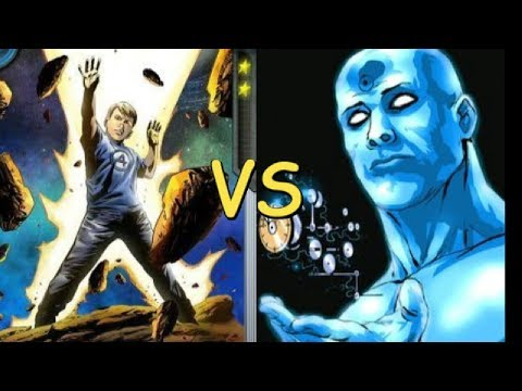 DR MANHATTAN vs FRANKLIN RICHARDS - marvel - dc comics - alejozaaap