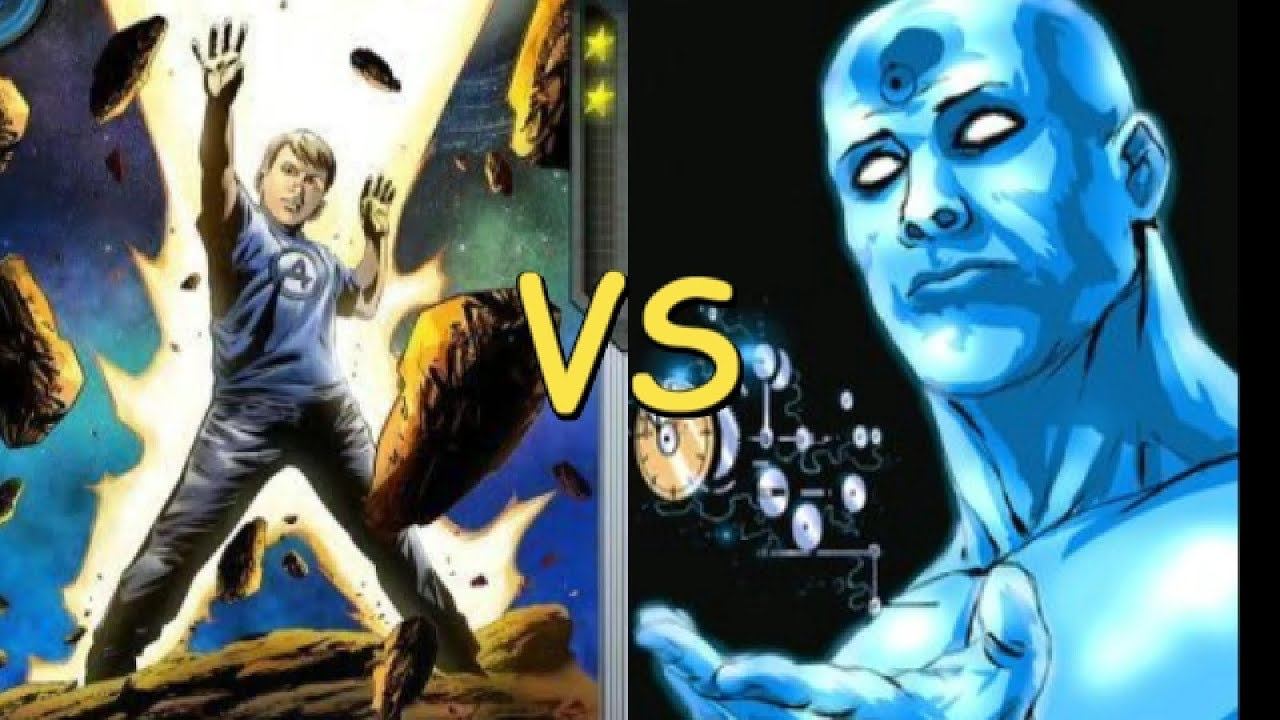 dr manhattan vs franklin richards marvel dc comics alejozaaap