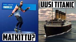 Epic Games oikeuteen Fortnite-tanssin takia? Titanicista ollaan tekemässä uusi versio?