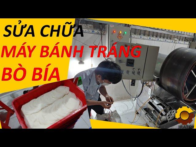 Sửa Chữa Máy Bò Bía - Máy Làm Bánh Tráng Bò Bía Công Nghiệp | VINAIRATO