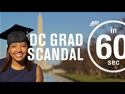 Washington, DC, graduation scandal: A canary in a coal mine? | IN 60 SECONDS