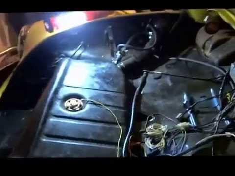 1973 VW Bug gas tank removal clicking noise trouble