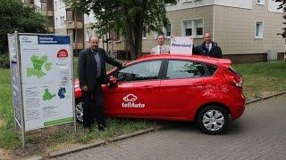 Zusammenarbeit mit Carsharing-Anbieter teilAuto in Magdeburg