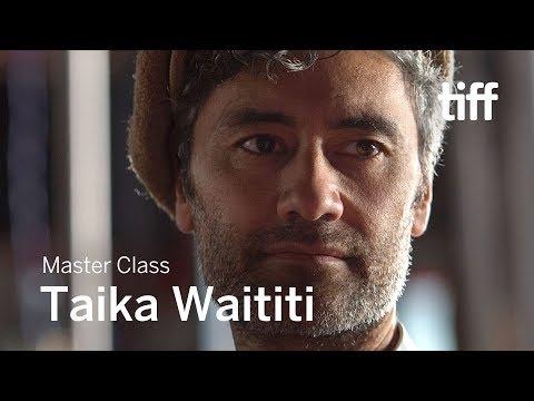 TAIKA WAITITI  Master Class  TIFF 2018