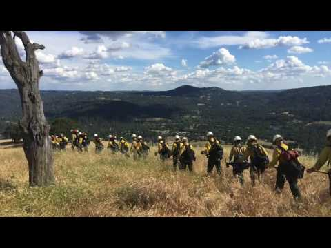Meet the Folsom Lake Veterans' Fire Crew