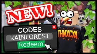 ALL NEW CODES, RAINFOREST UPDATE, FREE ITEM CHEST! | Roblox Unboxing Simulator