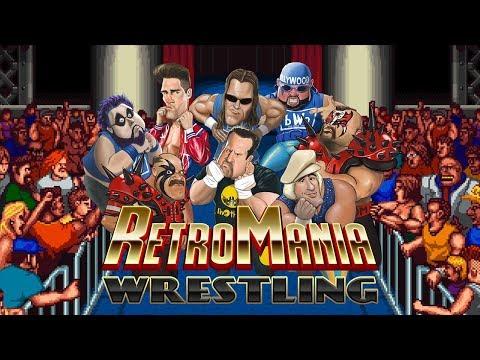 NEW Wrestling Video Gaming COMING SOON!! - RetroMania Wrestling