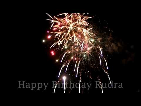 Happy Birthday Rudra