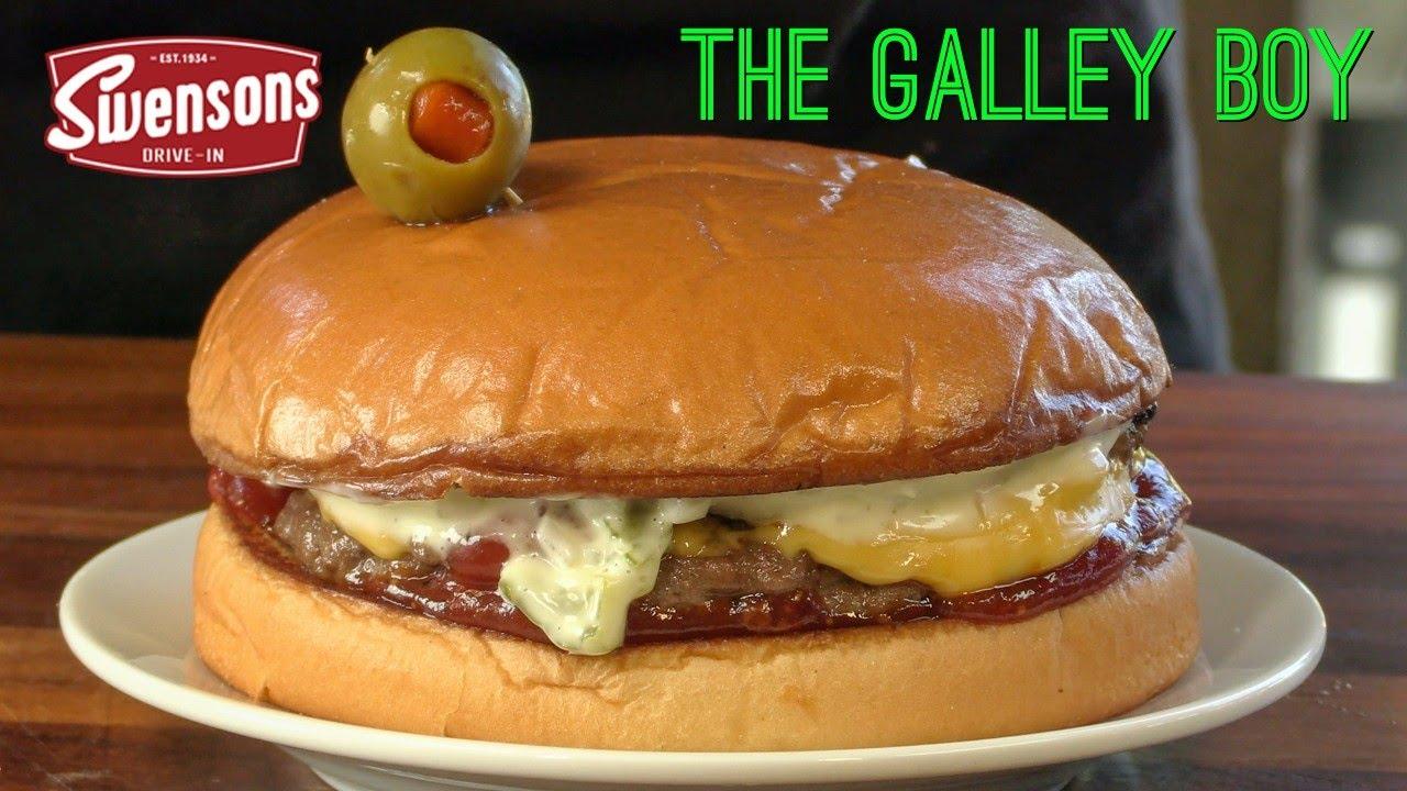 "Swensons Drive-In Galley Boy Burger Copycat Recipe! | America's ""Best Cheeseburger"""