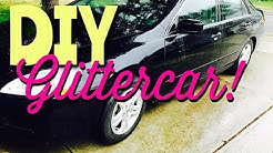 DIY Glitter Car 1/2