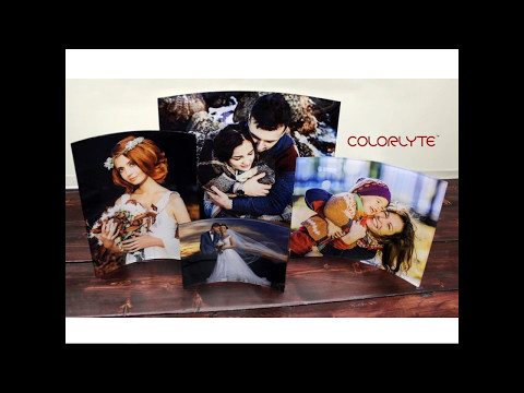 Curved ColorLyte Acrylic Photo Panels Webinar May 2017