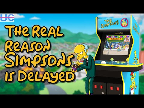 Here's Why The Simpsons Arcade1up Is Delayed from Unqualified Critics