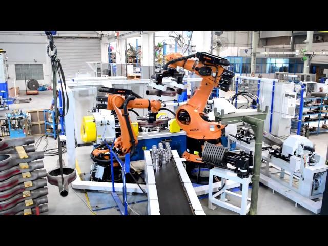 125T Reibschweißmaschine mit Roboter