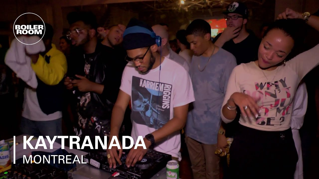 Kaytranada Boiler Room Montreal DJ Set - YouTube