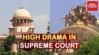 Ayodhya Hearing : Muslim Counsel Tears Up Map, High Drama In The Supreme Court