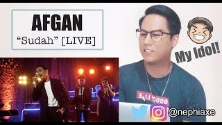 Download [REACTION] Afgan - Sudah | Live On #YoutubeMusicSessions Mp3