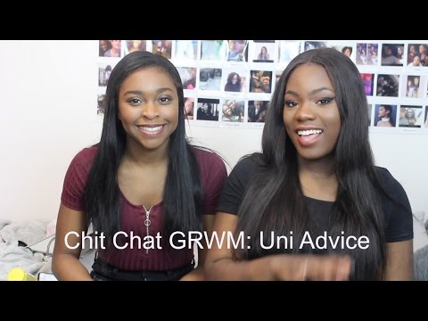 Chit Chat Get ready with me: University advice/ University of Leicester |