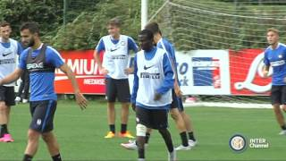 ALLENAMENTO INTER REAL AUDIO 14 09 2015