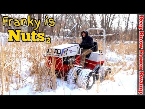 "Ventrac Review pt2  ""HOW NOT TO TEST A TRACTOR ?!?""  because Franky is STILL Nuts PT.2"