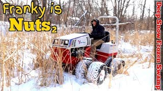 """Ventrac Review pt2  """"HOW NOT TO TEST A TRACTOR ?!?""""  because Franky is STILL Nuts PT.2"""