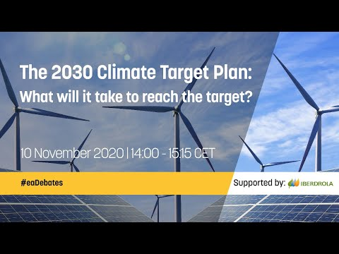 The 2030 Climate Target Plan: What will it take to reach the target?