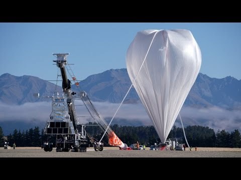 NASA launches super balloon to collect near space data