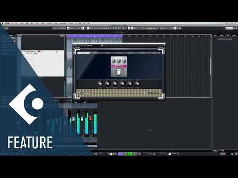 VST Amp Rack | Effects and Plug-ins Included in Cubase